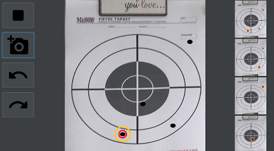 Visual Target Detection is easy and intuitive to use.